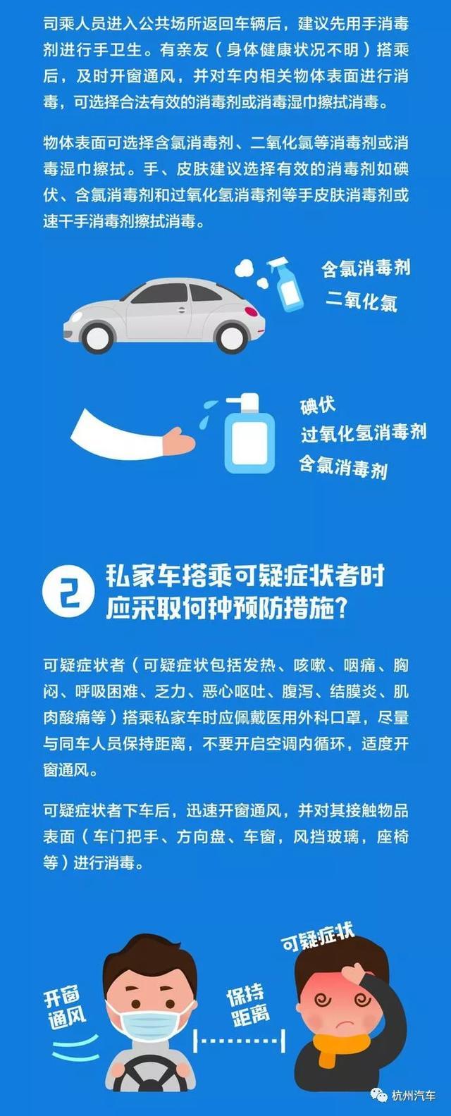 私家车如何预防新冠肺炎?中国疾控中心提示:私家车预防